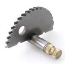 Ос за манивела за китайски скутер GY6-50/80 за храпова муфа 8 зъба  57mm